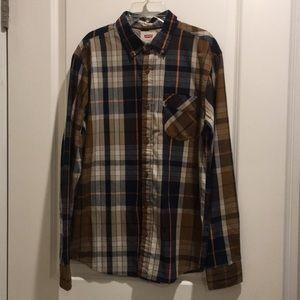 Levi's long sleeve button down shirt